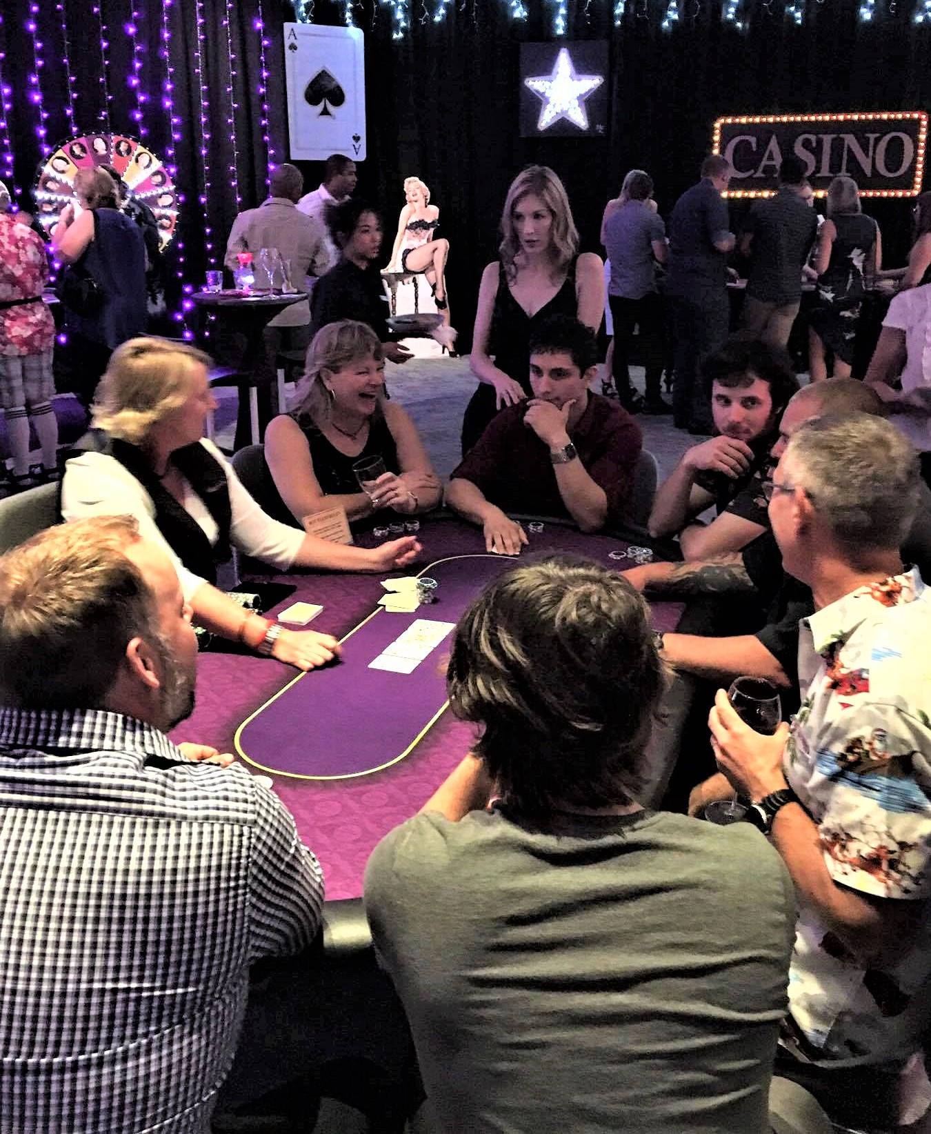 Corporate Social Club Poker Game