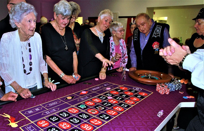 Casino Night Function at a Retirement Village