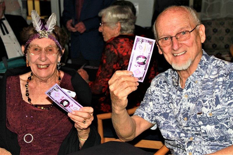 Retirement Village Residents Having Fun