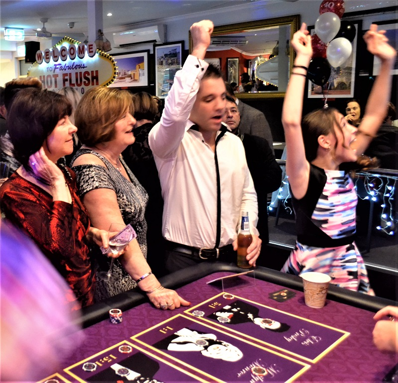 40th Birthday Casino Winners