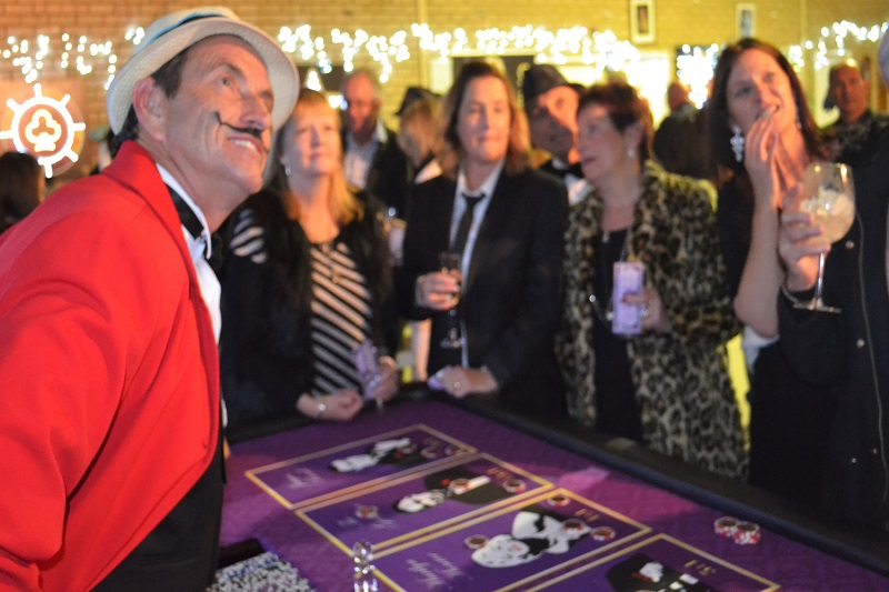 Fun Casino Footy Fundraiser