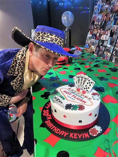 Kevin's 50th Birthday Party Takes the Cake