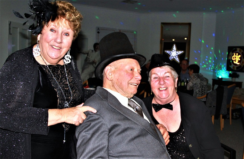 Casino Night at Retirement Village a Huge Hit